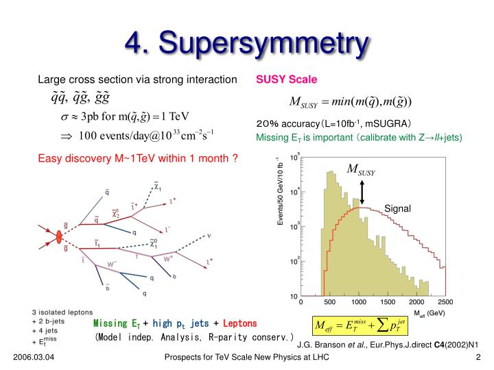 4 supersymmetry