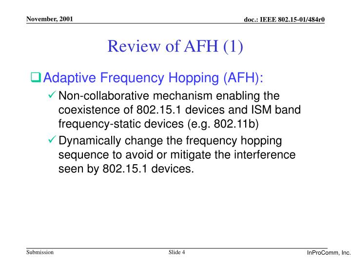 Review of AFH (1)