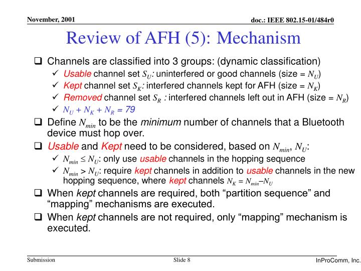 Review of AFH (5):