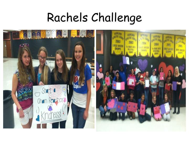 Rachels Challenge