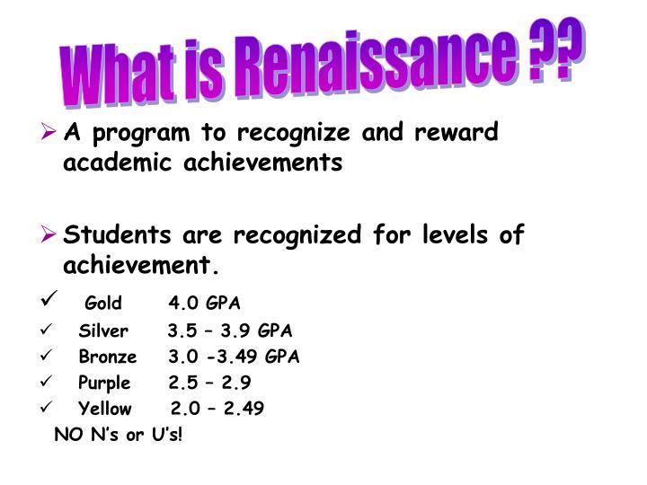 What is Renaissance ??