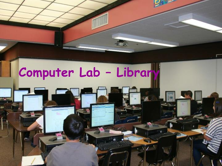 Computer Lab – Library