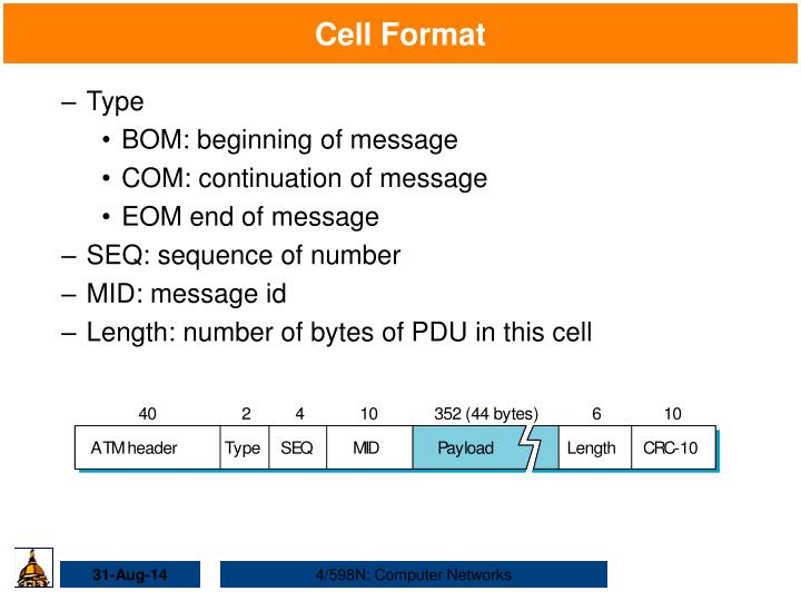 Cell Format