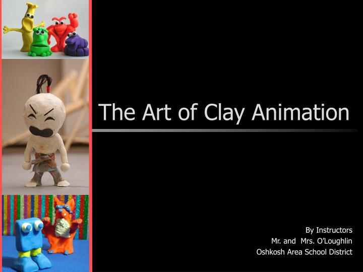 the art of clay animation n.