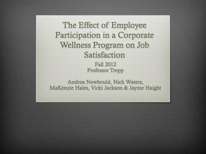 effect of technology on employee satisfaction Influence of technology on the workplace and worker-management relations disciplines human resources management comments report submitted to the commission on the future of worker-management relations.