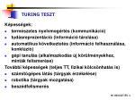 turing teszt