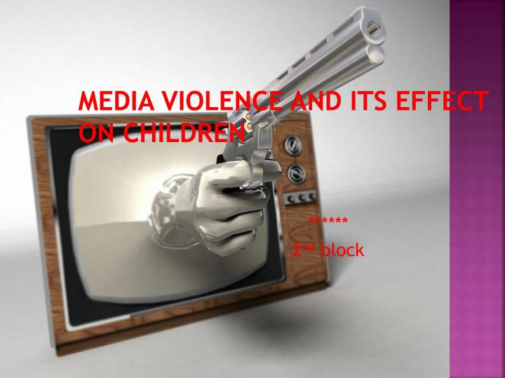 media violance How media violence from movies to tv to video games adversely affects the brain.