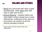 page 35 values and ethics