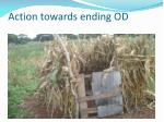 action towards ending od