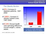 the obesity burden