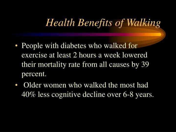 Health Benefits of Walking