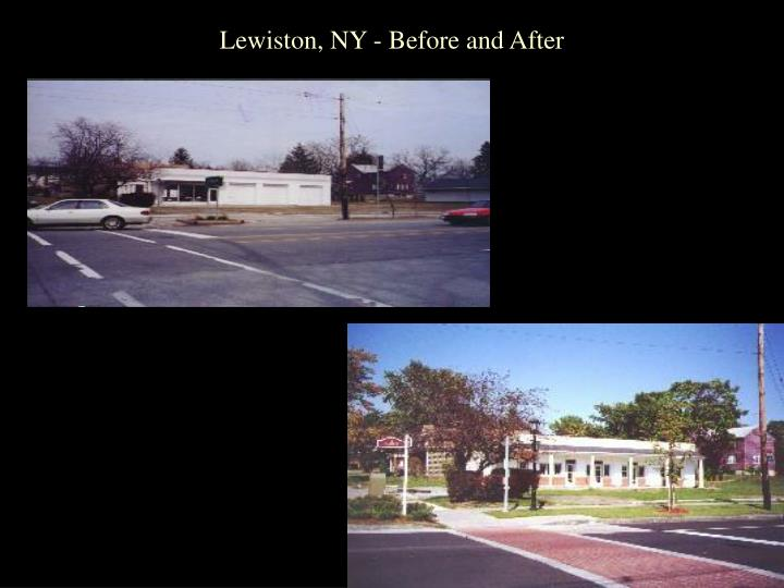 Lewiston, NY - Before and After
