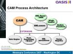 cam process architecture