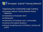 european judicial training network