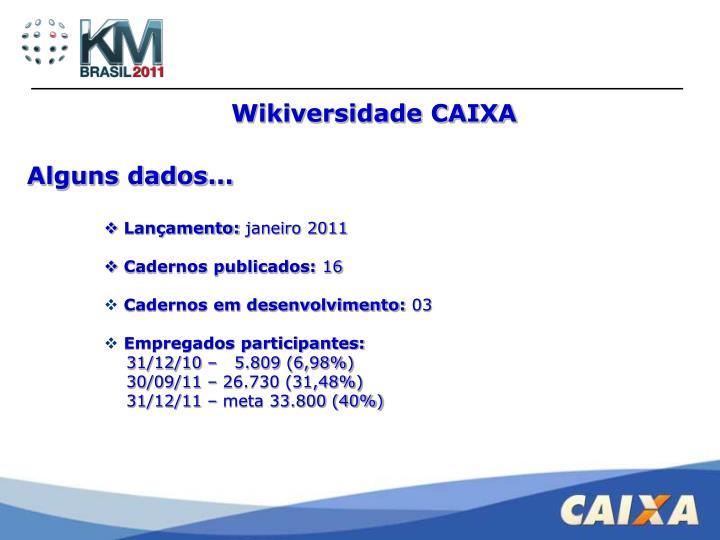 Wikiversidade CAIXA