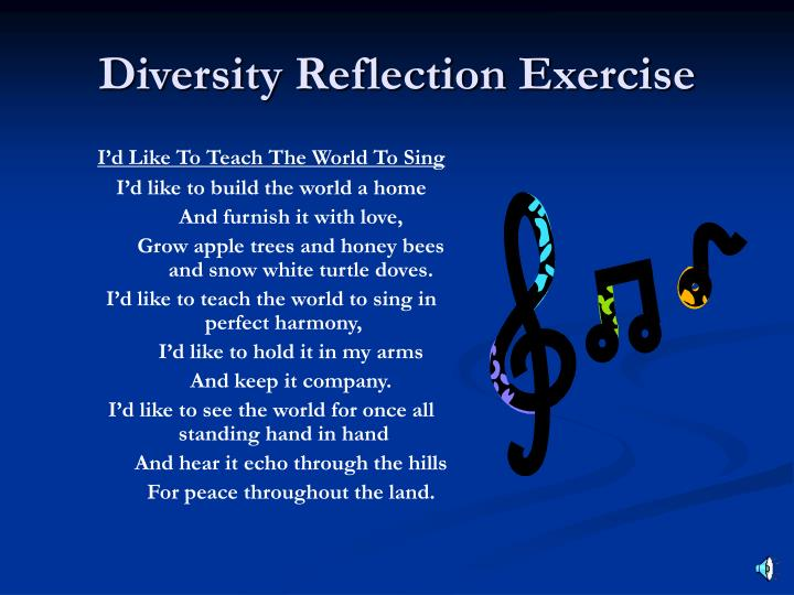 reflection on diversity Sample of reflection on diversity essay (you can also order custom written reflection on diversity essay).