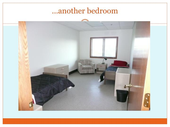 …another bedroom