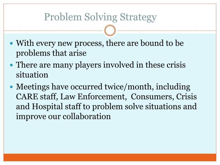 Problem Solving Strategy
