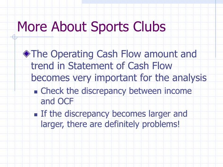 More About Sports Clubs