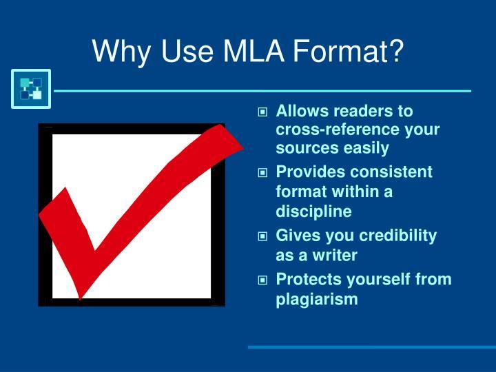 mla powerpoint format
