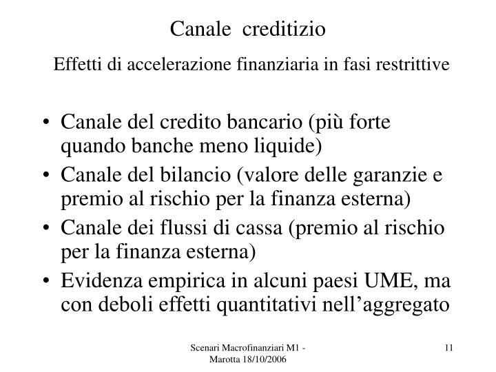 Canale  creditizio