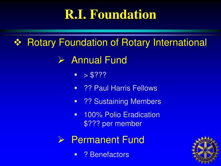 R.I. Foundation