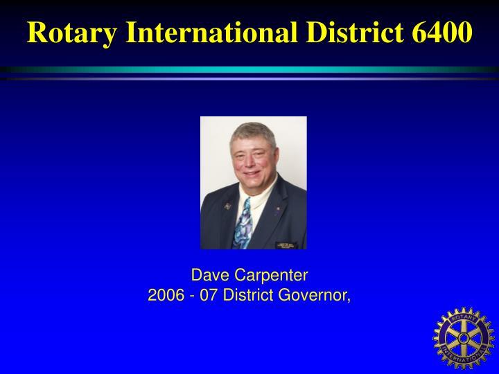 Rotary International District 6400