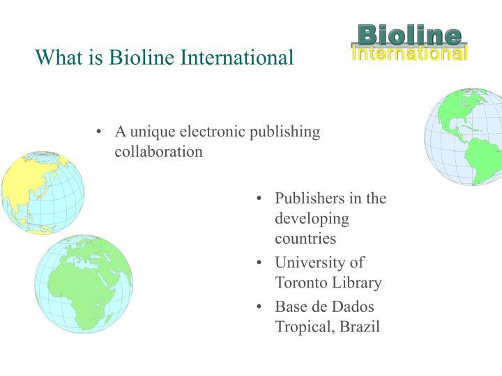A unique electronic publishing collaboration