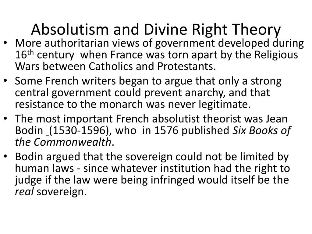PPT - The Age of Absolutism PowerPoint Presentation - ID ...