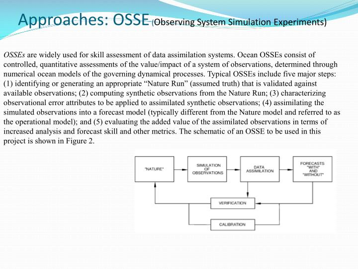 Approaches: OSSE