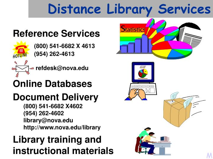Distance Library Services