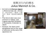 julius mannich co1
