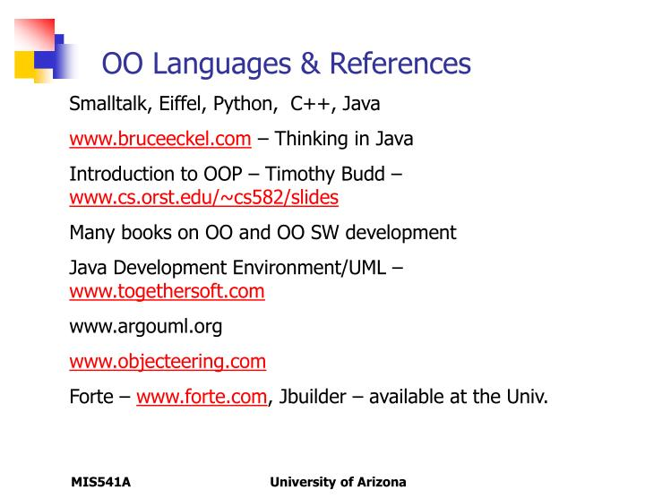 OO Languages & References