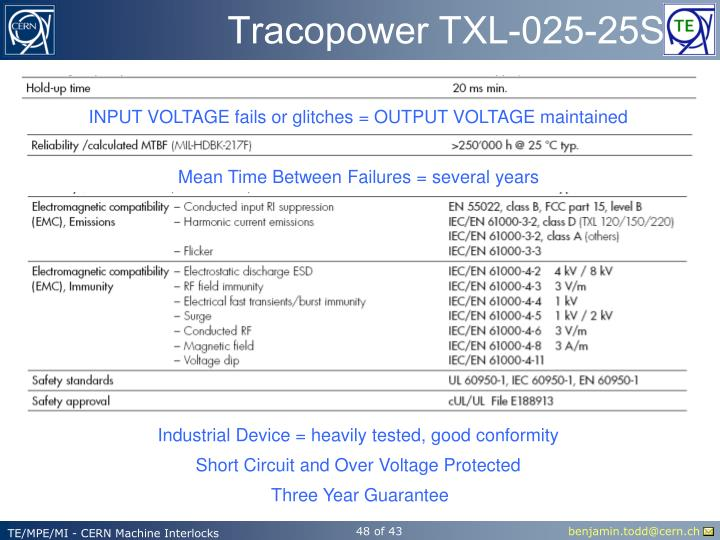 Tracopower TXL-025-25S
