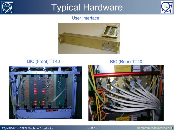 Typical Hardware