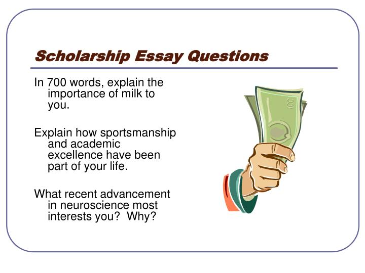 sammy milk scholarship essay This page lists some of the more interesting, esoteric and unusual scholarships available.