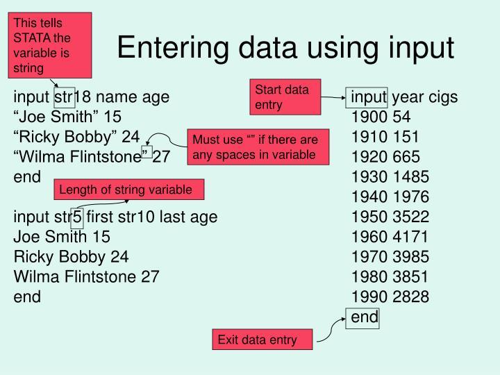input str18 name age