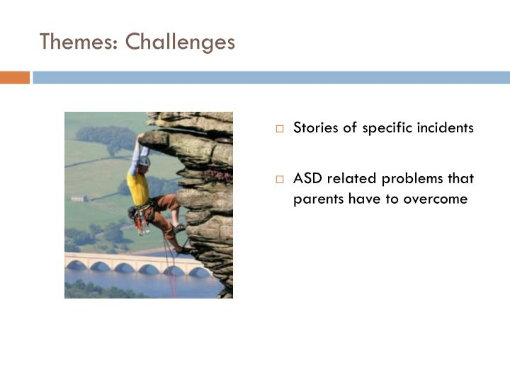 Themes: Challenges