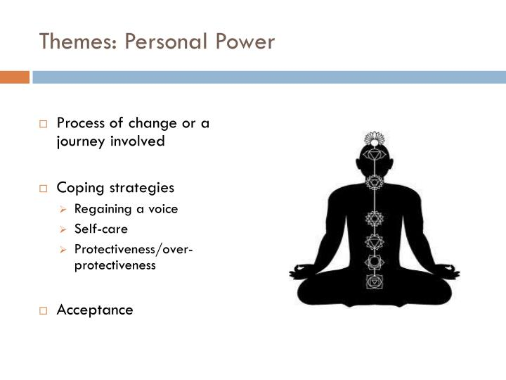 Themes: Personal Power
