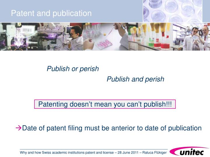 Patenting doesn