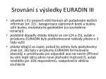 srovn n s v sledky euradin iii