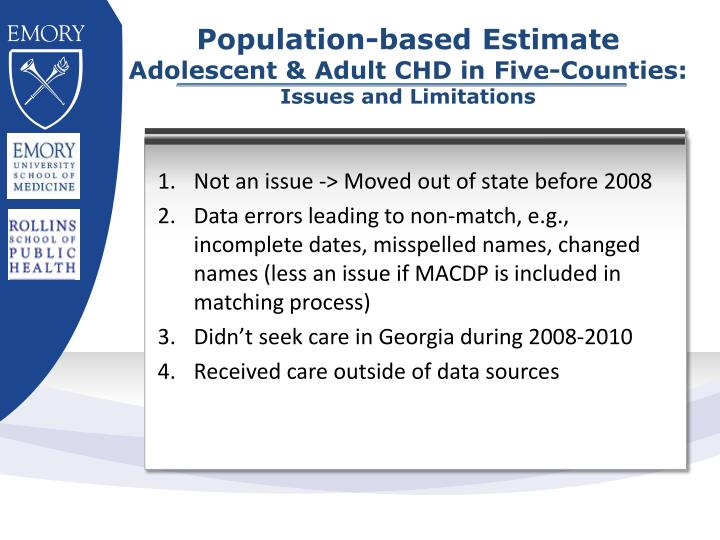 Population-based Estimate