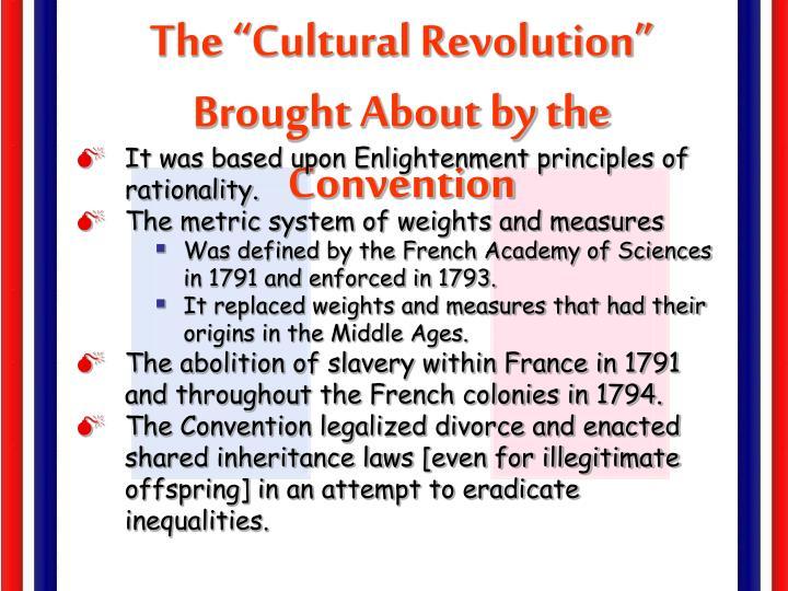 "The ""Cultural Revolution"""