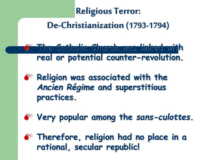 Religious Terror: