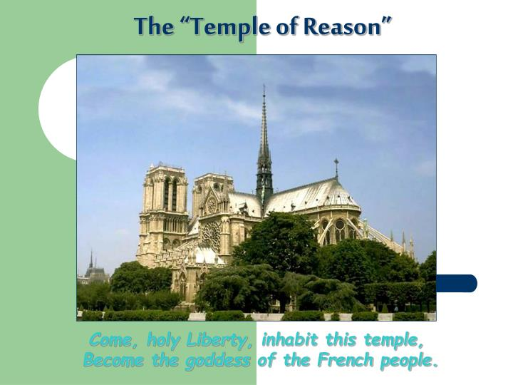 """The """"Temple of Reason"""""""
