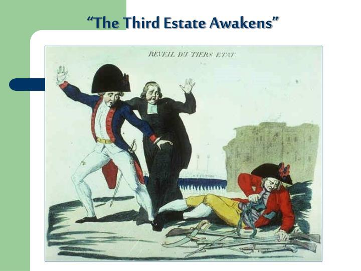 """""""The Third Estate Awakens"""""""