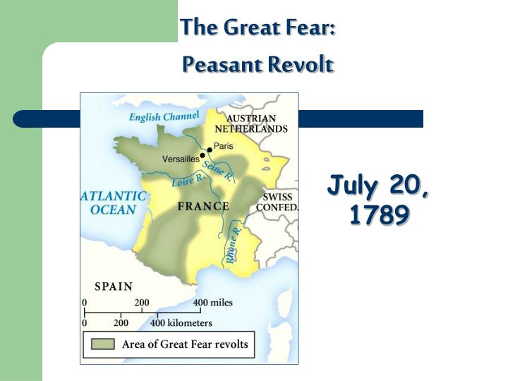 The Great Fear: