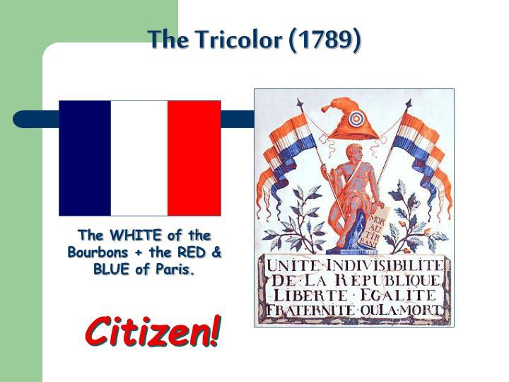 The Tricolor (1789)