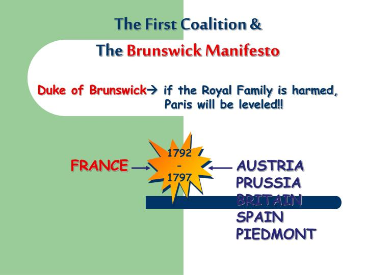 The First Coalition &