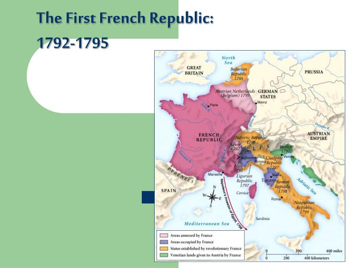 The First French Republic: